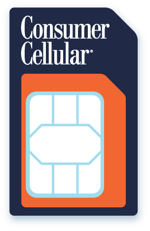 consumer cellular sim card no contract cell phone service. Black Bedroom Furniture Sets. Home Design Ideas