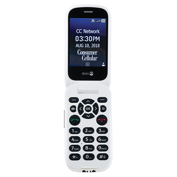 Alcatel Go Flip Phone | Big Button Cell Phone | Consumer Cellular
