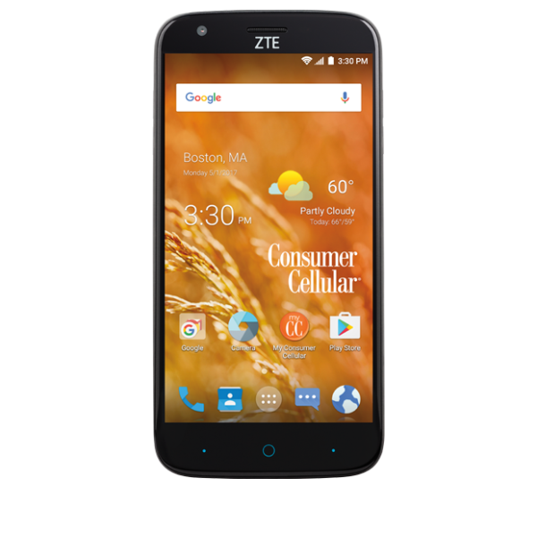 reputable site bf83a acc6b ZTE Avid 916 4G LTE Smartphone Support - Consumer Cellular