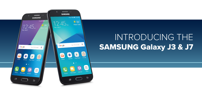 Exciting New Choices from Samsung: the Galaxy J7 and Galaxy J3